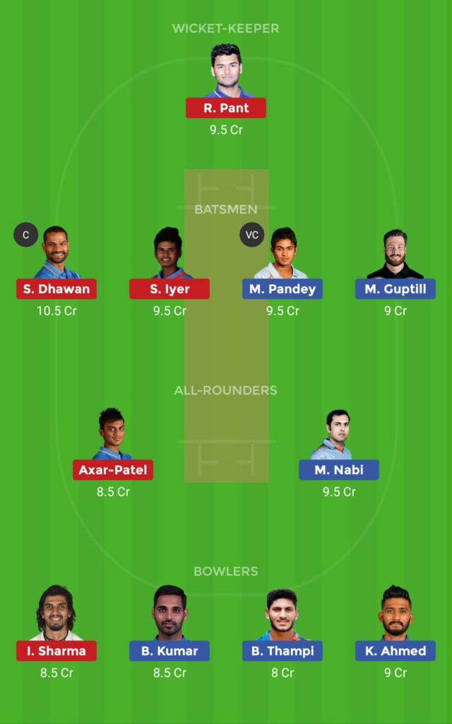 Small League Team DC vs SRH Eliminator