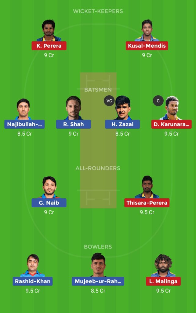 Grand League Team AFG vs SL