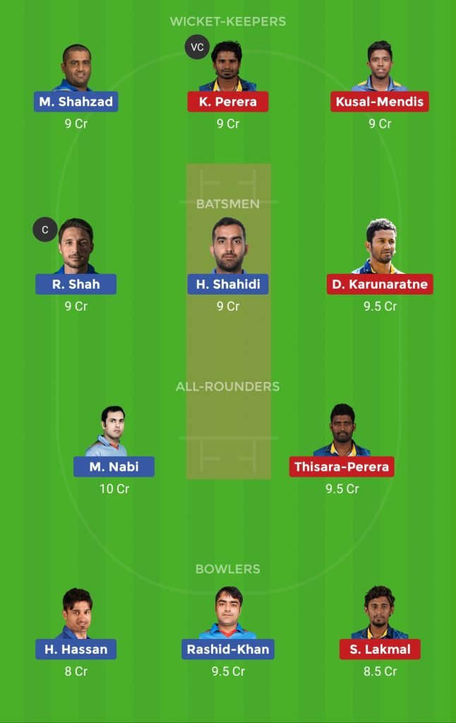 Small League Team AFG vs SL