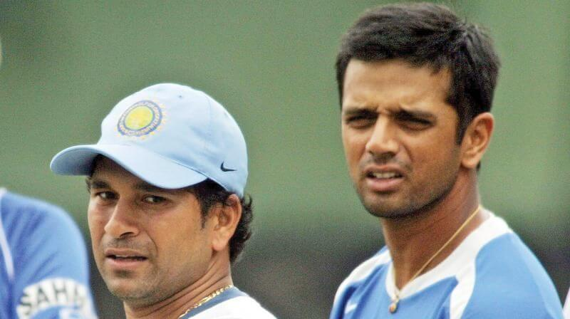Sachin Tendulkar and Rahul Dravid stumped out only once